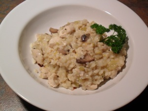 Chicken and lemon risotto