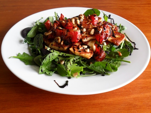 Haloumi Balsamic Salad 2
